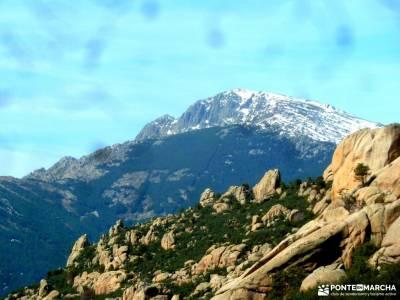 Gran Cañada-Cerro de la Camorza; senderismo por europa puente septiembre parque natural sierra norte